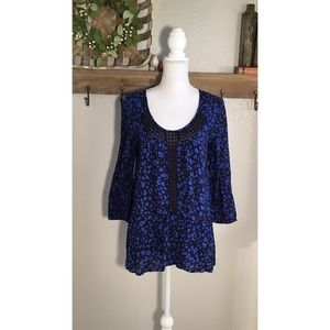 Anthropologie Ressica tunic in blue by HD in Paris
